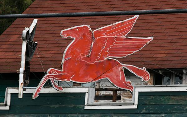 Photograph - Pegasus At Keeler's Korner II by E Faithe Lester