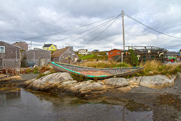 Halifax Wall Art - Photograph - Peggy's Cove 10 by Betsy Knapp