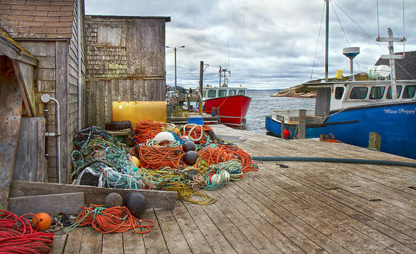 Halifax Wall Art - Photograph - Peggy's Cove 17 by Betsy Knapp