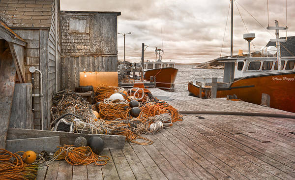 Halifax Wall Art - Photograph - Peggy's Cove 17b Hue by Betsy Knapp