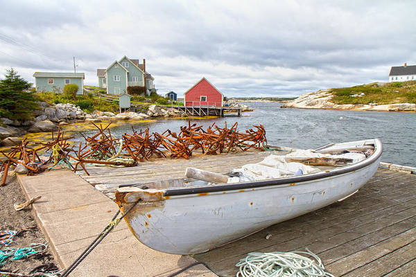 Halifax Wall Art - Photograph - Peggy's Cove 4 by Betsy Knapp