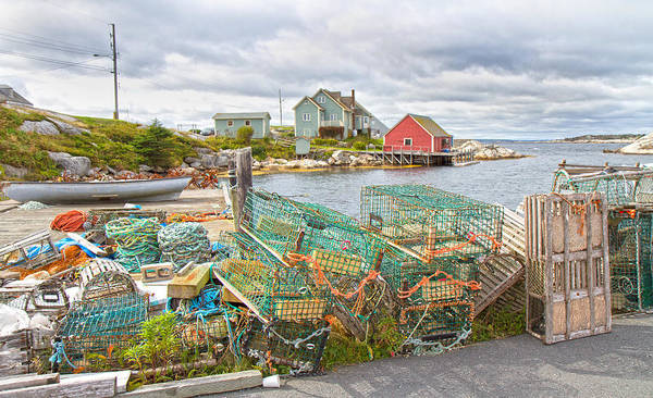 Halifax Wall Art - Photograph - Peggy's Cove 5 by Betsy Knapp