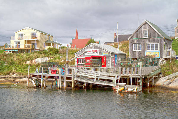 Halifax Wall Art - Photograph - Peggy's Cove 7 by Betsy Knapp