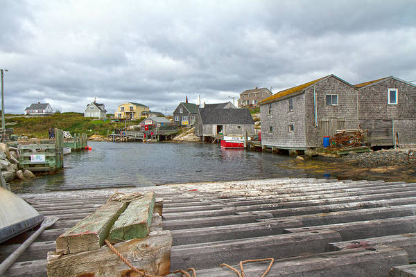 Halifax Wall Art - Photograph - Peggy's Cove 9 by Betsy Knapp