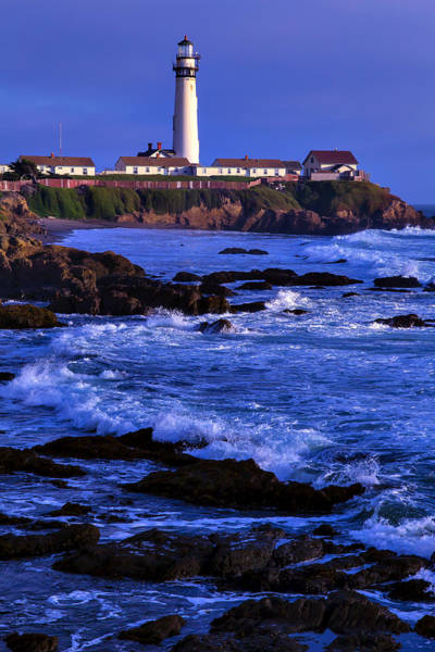 Coast Guard House Photograph - Pegion Point Light Station by Garry Gay