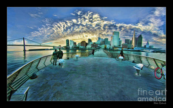 Photograph - Pier 14 San Francisco Sky by Blake Richards