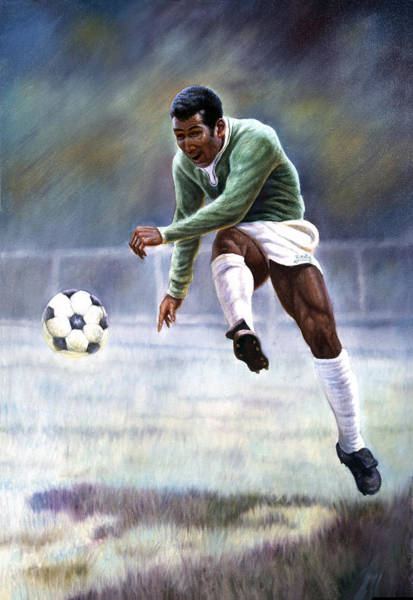 Wall Art - Painting - Pele by Gregory Perillo