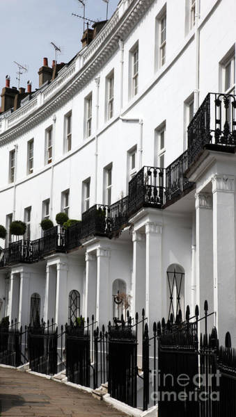 Fulham Road Wall Art - Photograph - Pelham Crescent In South  Kensington London by Ros Drinkwater