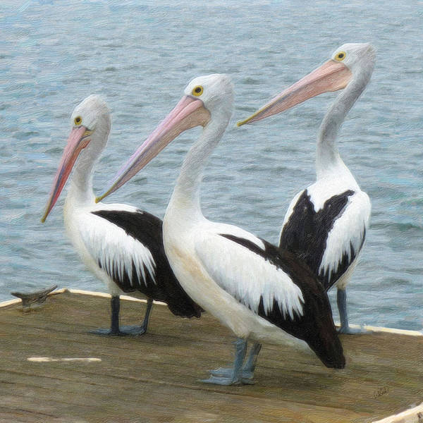 Painting - Pelican 2345 by Dean Wittle