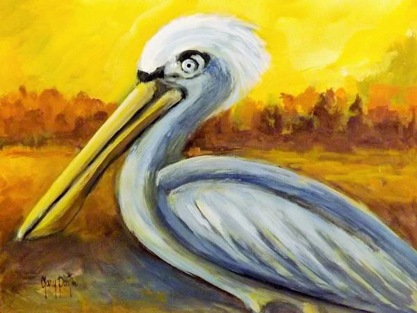 Painting - Pelican Pete by Gary Partin