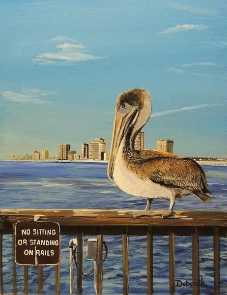 Pelican Rules Art Print