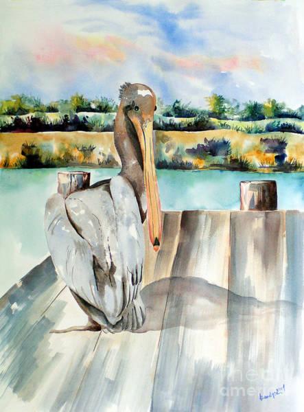 Pelican With An Attitude Art Print