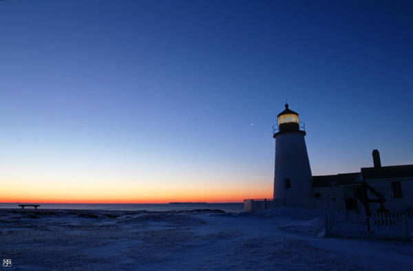 Photograph - Pemaquid And Venus by John Meader
