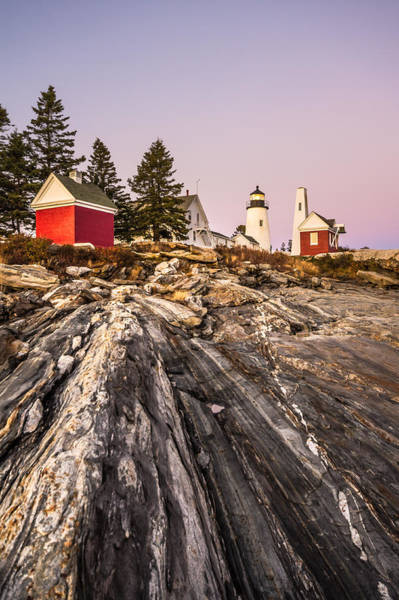 Photograph - Pemaquid Dusk by Robert Clifford