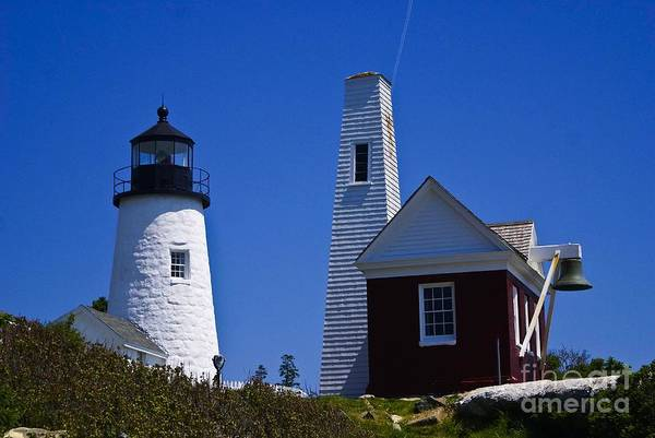 Photograph - Pemaquid Point Light. by New England Photography