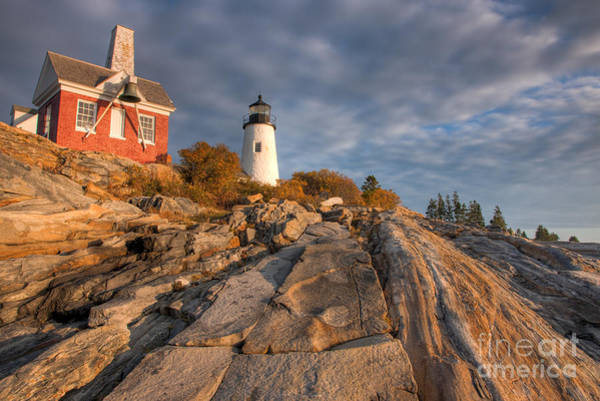 Photograph - Pemaquid Point Light Vii by Clarence Holmes