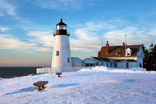 Wall Art - Photograph - Pemaquid Point Lighthouse by Eric Gendron