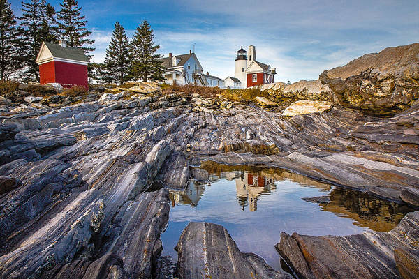 Photograph - Pemaquid Reflection by Robert Clifford