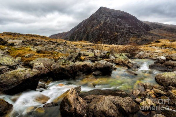 Brook Photograph - Pen Yr Ole Wen by Adrian Evans