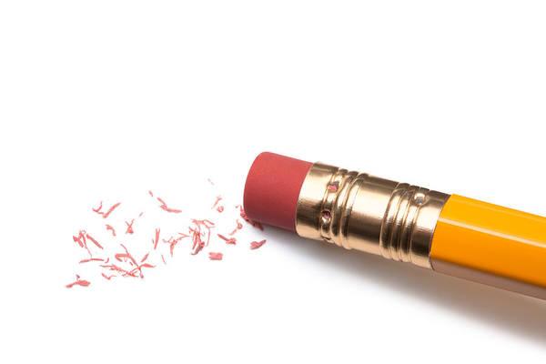 Pencil Eraser Art Print by T_kimura