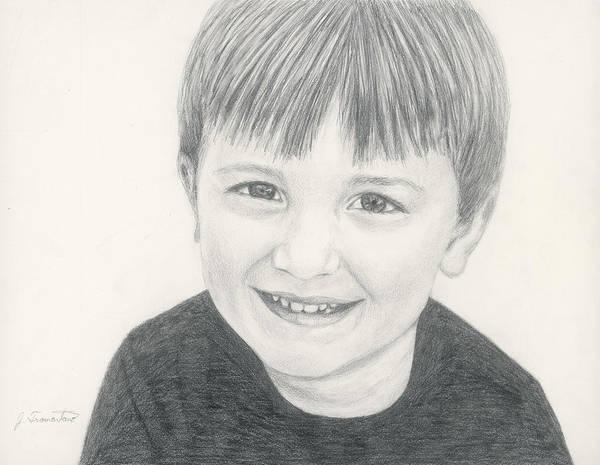 Drawing - Pencil Portrait by Jeannette Tramontano