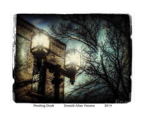 Mount Clemens Photograph - Pending Dusk by Donald Yenson