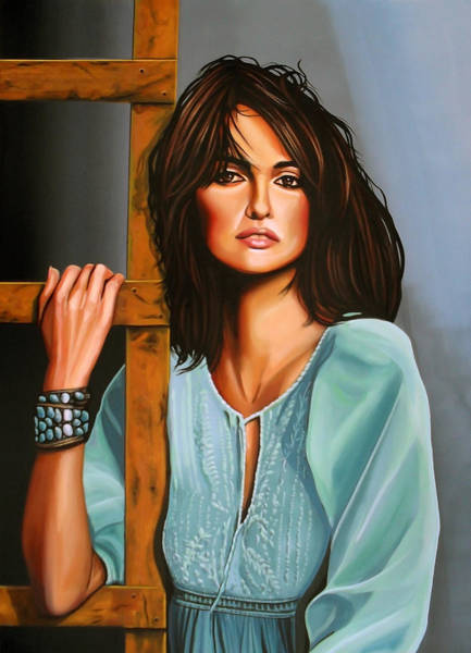 Sex Painting - Penelope Cruz by Paul Meijering