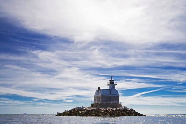 Fairfield Photograph - Penfield Reef Lighthouse Fairfield Connecticut by Stephanie McDowell