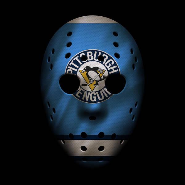 Wall Art - Photograph - Penguins Jersey Mask by Joe Hamilton