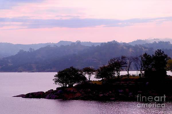 Photograph - Peninsula In Lake by Richard J Thompson