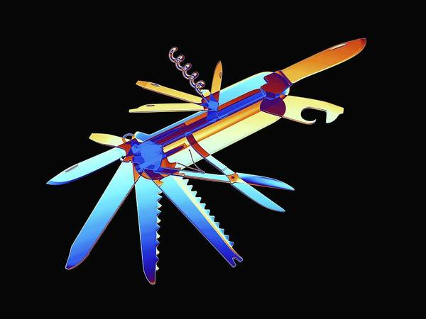 Blades Photograph - Penknife by Alfred Pasieka