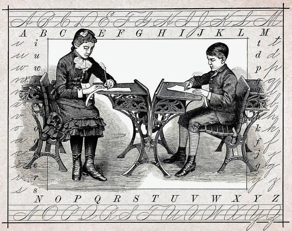 Victorian House Digital Art - Penmanship by Daniel Hagerman