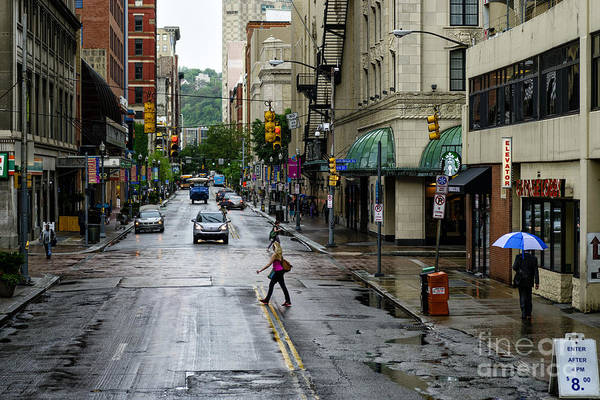 Photograph - Penn Avenue Pittsburgh by Thomas R Fletcher