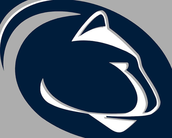 Painting - Penn State Nittany Lions by Tony Rubino