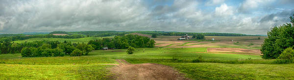 Photograph - Penna Farmland  3d22554 by Guy Whiteley