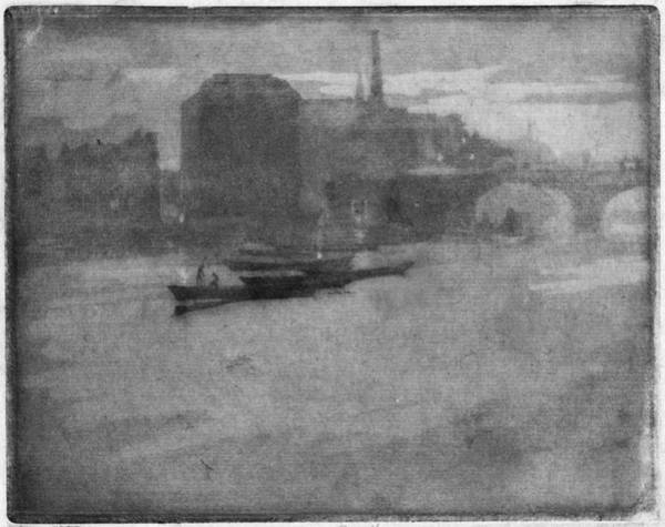 Painting - Pennell Thames, 1903 by Granger