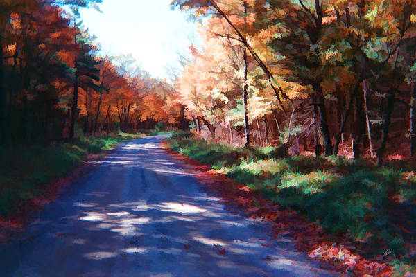 Painting - Pennsylvania Autumn 006 by Dean Wittle