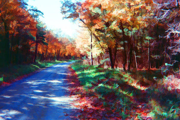 Painting - Pennsylvania Autumn 008 by Dean Wittle