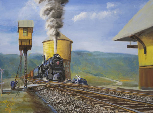 Pennsy Painting - Pennsylvania Crossing by Christopher Jenkins