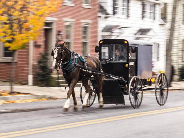 Photograph - Pennsylvania Dutch Carriage by Paul Ross