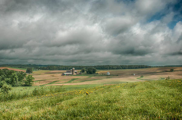 Photograph - Pennsylvania Farmland by Guy Whiteley