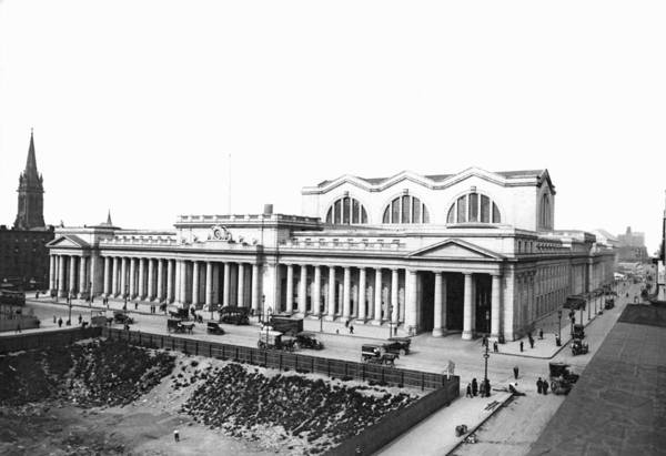 1911 Photograph - Pennsylvania Station by Underwood Archives