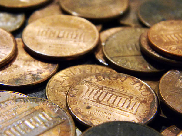 In God We Trust Photograph - Penny by Kelly Howe