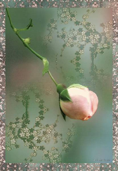 Painting - Penny Postcard Chinoiserie by RC DeWinter
