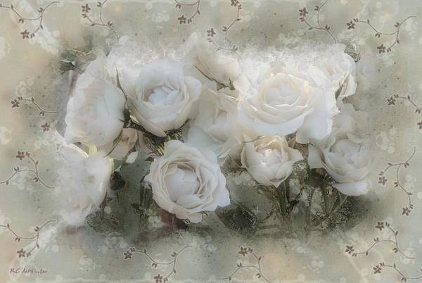 Painting - Penny Postcard Innocent by RC DeWinter