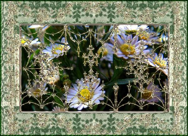 Painting - Penny Postcard Rococo by RC DeWinter
