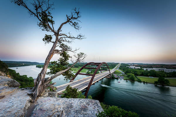 Texas Capitol Photograph - Pennybacker Bridge Austin by David Morefield