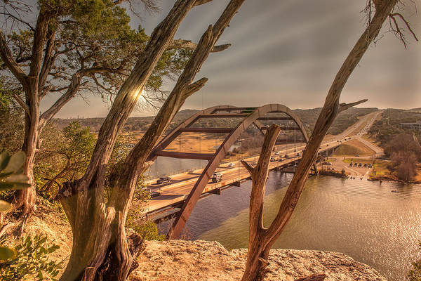 Photograph - Pennybacker Bridge by John Johnson