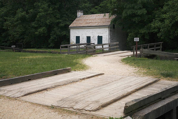 Photograph - Pennyfield Lock And Lockhouse On The C And O Canal In Maryland by William Kuta