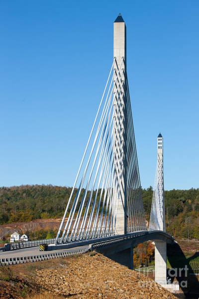 Photograph - Penobscot Narrows Bridge I by Clarence Holmes